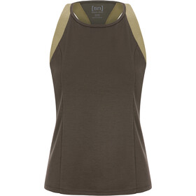 super.natural Round Neck Top Women, killer khaki/bamboo